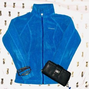 Columbia Blue zip up jacket